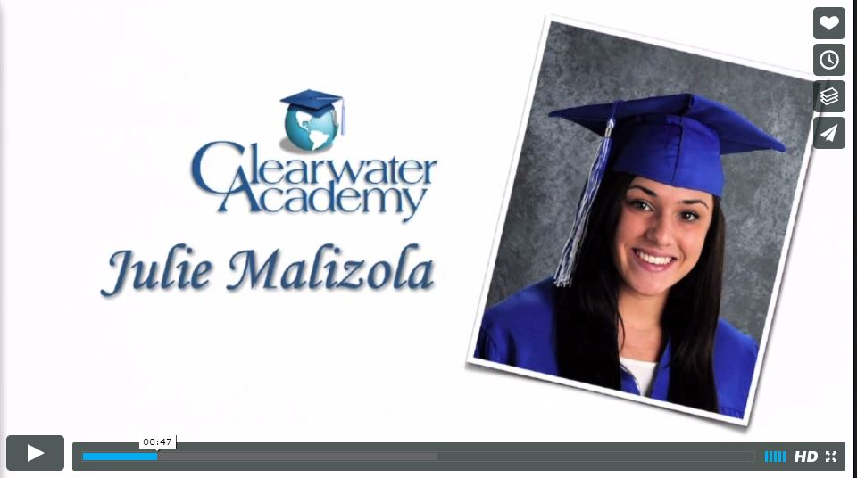 Graduation 2013 - Julie Malizola