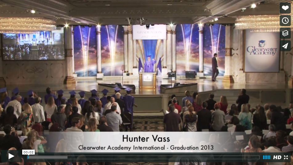 Graduation 2013 - Hunter Vass